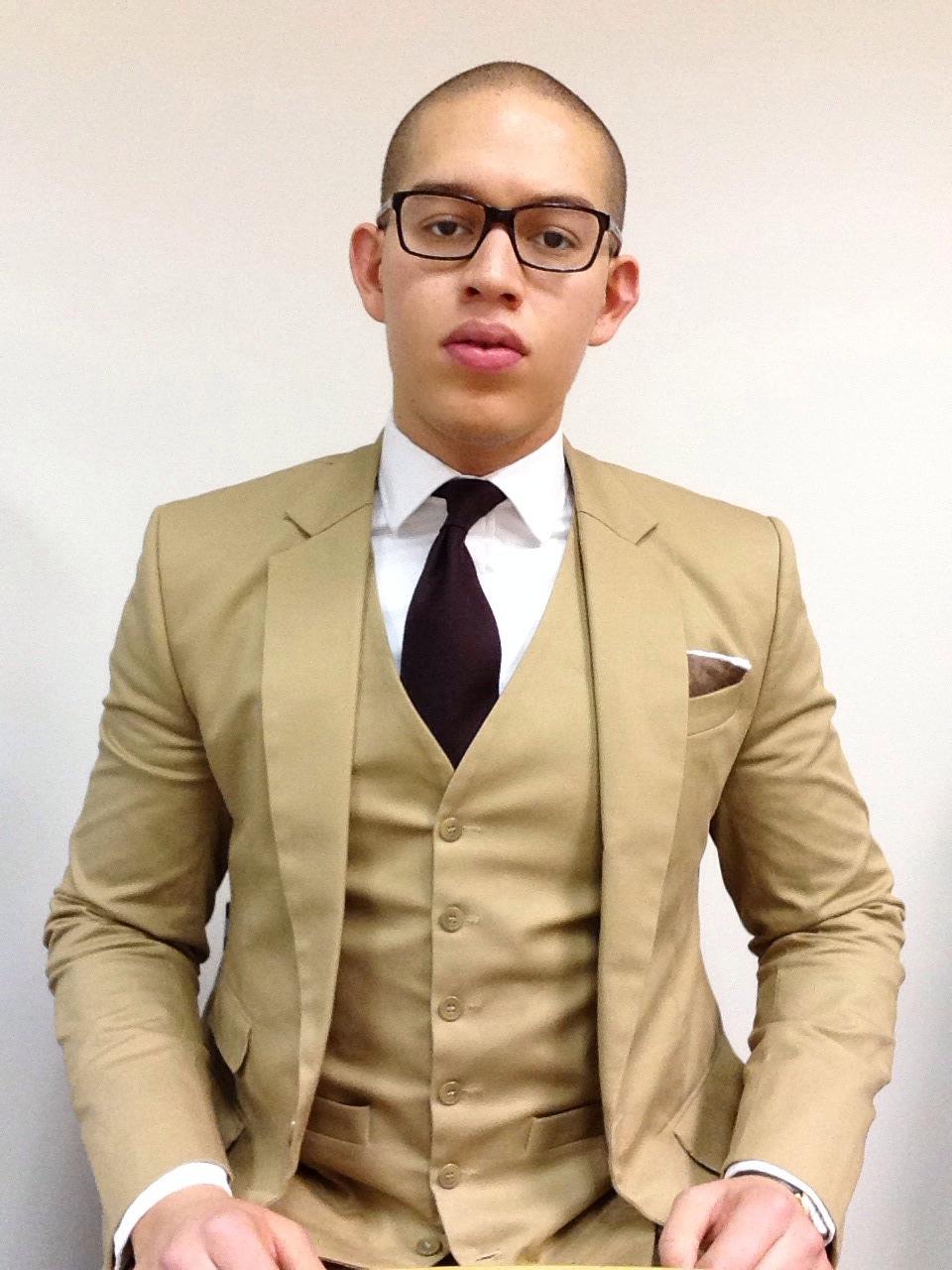 3piece suit | Hibiscus Avenue
